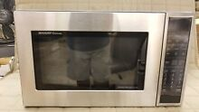 SMC1585BS SHARP CAROUSEL CONVECTION MICROWAVE OVEN 1 5 CU  FT  900W