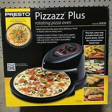New  Presto 03430 Pizzazz Plus Rotating Pizza Oven                            o3