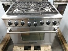 American Range 36  6 Powerful Sealed Burners with Convection Oven ARR 366