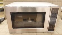 DENT CASE   SHARP CAROUSEL CONVECTION MICROWAVE OVEN 1 5 CU  FT  900W   1585BS