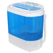Washing Machine Timer Control Blue Clear Body Drain   5 5lb Washer