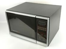 Vintage 1985 Amana Radarange Touchmatic Microwave Oven RS 50 With Shelf