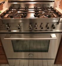 Bertazzoni Pro 304 Gasx 30  Gas Range 4 Burners Stainless Steel