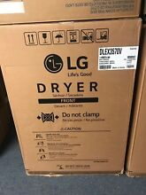 LG 7 4 cu Ft Stack Able Electric Dryer Graphite Steel DLEX3570V