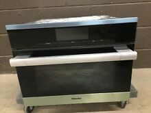 Miele DGC6700 1 Combination 24  Steam Wall Oven XLSS