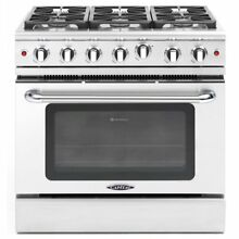 Capital MCR366N 36  Professional Gas Range 6 Burners