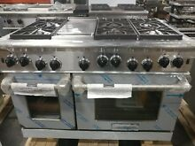 American Range 48  6 Burner Range Cuisine Series with Griddle    Convection Oven
