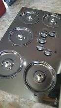 GE JGP 630BEK1BB 36  GAS  Glass COOK TOP  STOVE  5 BURNERS Great CONDITION