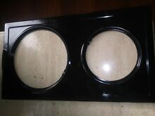 NEW Whirlpool double burner   CERAMIC TOP SEE PICS  DETAILS