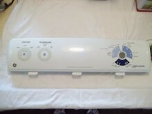 WH42X10837 GE Top Load Washer Backsplash Console Panel USED