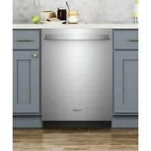 Whirlpool Top Control Built In Tall Tub Dishwasher in Fingerprint Resistant Stai