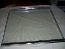 GE Hotpoint Refrigerator Tempered Glass Cantilever Shelf Part  WR71x6008
