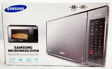 Samsung MG14H3020CM 1 4 Cu Ft  Countertop Grill Microwave Black Mirror