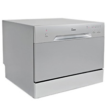 Ensue Countertop Dishwasher Portable Compact Dishwashing Machine Silver