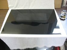 Whirlpool Range Outer Door Glass  Black  29 1 4  X 20 5 8  PN 3148185  E671