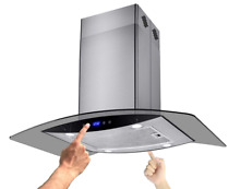 NEW  36  Island Mount Stainless Steel Range Hood LH 688I CS14 90