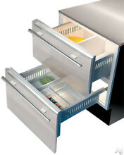 Sub Zero Stainless Steel  27 in  Drawer Panel with Pro Handle S7006792