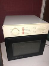 Sharp Carousel II Half Pint Microwave Oven Model R 1M53 Dorm RV Compact