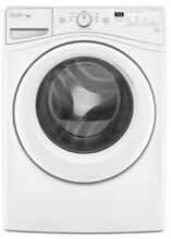 Whirlpool WFW72HEDW l 4 2 cu  ft  Duet HE Front Load Washing Machine White