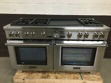 Thermador PRD606REG 60  Dual Fuel Range Pro Grand 6 Burners Double Griddle
