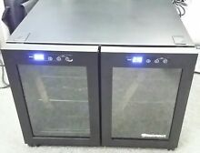 Wine Enthusiast 12 Bottle Dual Zone  Countertop Wine Cooler LOCAL PICK UP ONLY