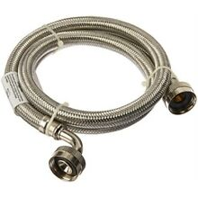 Certified Appliance Accessories 2 pk Braided Stainless Steel Washing Machine
