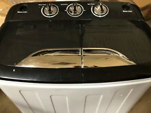 Portable Washing Machine TG23 Twin Tub Washer Machine with Wash Spin Cycle