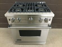 VIKING VGCC5304BSS 30  Professional Gas Range Oven 4 Burner Stainless Steel