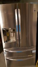 LG 27 Cu Ft  Stainless Steel French Door Refrigerator LMXS27626S