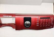 Samsung Vrt Washer Control Panel Assembly DC64 01985A RED