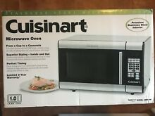 Cuisinart 1 0 Cu Ft  Countertop Microwave in Stainless Steel