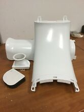 WR49X10091 GE REFRIGERATOR DAMPER AND FAN ASSEMBLY KIT