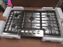 Bosch NGM8655UC 800 Series 36  Stainless Steel Natural Gas Cooktop
