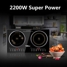 Dual Induction Cooker Induction Cooker Electric Ceramic Cooker Double Burner