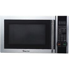 Magic Chef 1 1 Cubic Ft  1 000 Watt Microwave With Digital Touch Stainless Steel