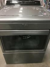 Whirlpool WGD7500GC 27  Chrome Shadow Front Load Gas Dryer NOB  27579 CLW