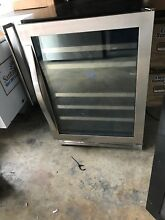 Whirlpool WUW55X24DS 24  Stainless Under Counter Wine Cooler NOB  28729