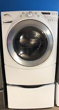 Whirlpool   Duet 4 0 Cu  Ft  14 Cycle Steam Washer   White WFW9600TW