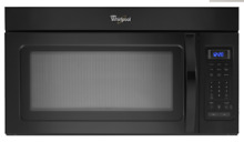 WMH31017AB Whirlpool 1 7cu ft  Over the Range Black Microwave LOCAL PICKUP ONLY