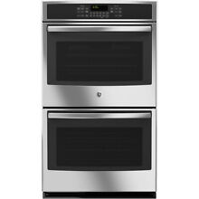 GE JT5500SFSS 30  Built In Double Wall Oven with Convection  New Display