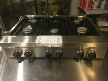 KitchenAid KGCU467V Stainless Steel 35 94 in Gas Kitchen cooktop NEW never used
