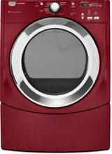 Maytag Dryer Complete control panel RED W10292612  W10303516