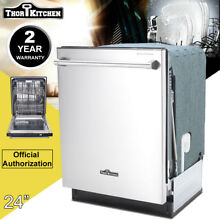 THOR KITCHEN 24  Semi Built Automatic Dishwasher in Stainless Steel HDW2401SS
