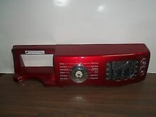 Samsung Washer Control Panel and Interface Board DC97 16107N DC92 00319D Red