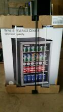 Man cave 126 Can Beverage Cooler Bar Fridge for Wine Beer and Soda