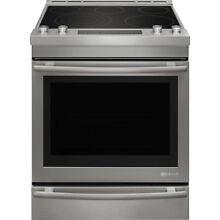 Jenn Air JES1450DS 30  Stainless Steel Convection Electric Range Baking Drawer