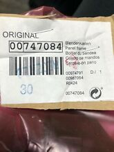 Brand New OEM 00747084 747084 Bosch Thermador Dishwasher Panel Frame Control