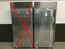 pair of 2  Sub Zero 36  Refrigerator BI 36R S and Sub Zero 36 Freezer BI 36F S