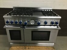 Thermador PG486GEBS 48  Gas Professional Grand Range 6 Burners   Griddle