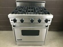 VIKING VGIC305 4BSS 30  Professional Gas Range Oven 4 Burner Stainless Steel